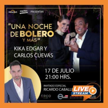 KIKA EDGAR, CARLOS CUEVAS Y RICARDO CABALLERO