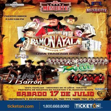 RAMON AYALA, HIJOS DE BARRON Y MAS!