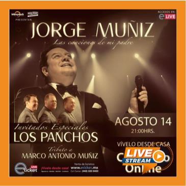 JORGE MUÑIZ - LAS CANCIONES DE MI PADRE: Main Image
