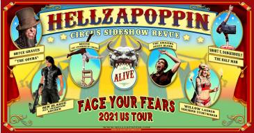 HELLZAPOPPIN Circus Sideshow Revue: