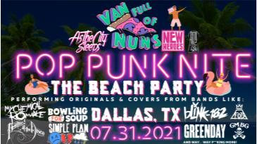 Pop Punk Nite: The Beach Party! By: Van Full of Nuns: Main Image