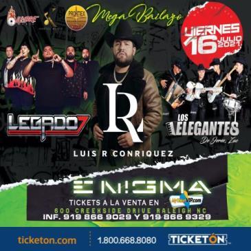 LUIS R CONRIQUEZ, LEGADO 7 Y LOS ELEGANTES