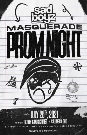 Sad Boyz Masquerade Prom: Main Image