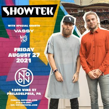 Showtek: With Special Guests Vassy + Noisecans: