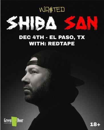 Shiba San at Green Door in El Paso, TX: