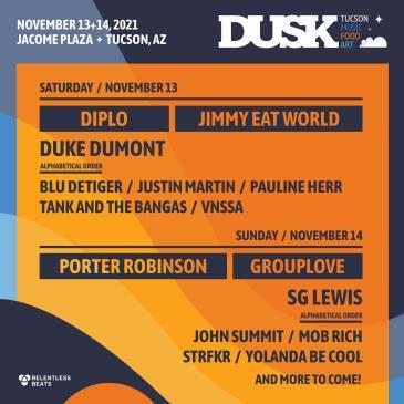 DUSK Music Festival 2021: