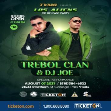 LOS ALIENS- TREBOL CLAN & DJ JOE: Main Image
