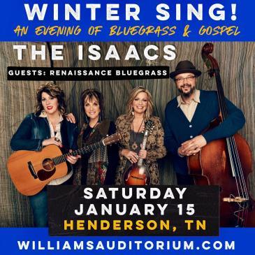 The Isaacs | Winter Sing: Main Image