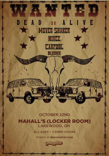 Mover Shaker at Mahall's Locker Room: