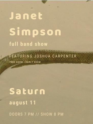 Janet Simpson: Main Image