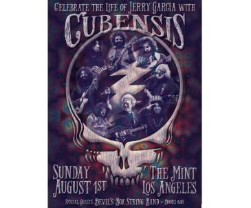 Cubensis - Jerry Garcia Birthday Celebration: Main Image