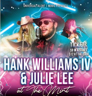 Hank Williams IV & Julie Lee w/ Maggie Camanga: Main Image