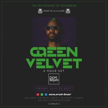 Green Velvet at Sound-Bar: Main Image
