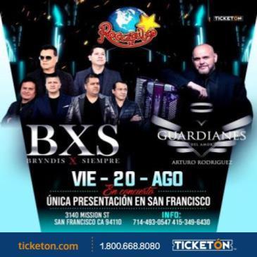 BXS BRYNDIS X SIEMPRE Y GUARDIANES DEL AMOR EN SAN FRANCISCO