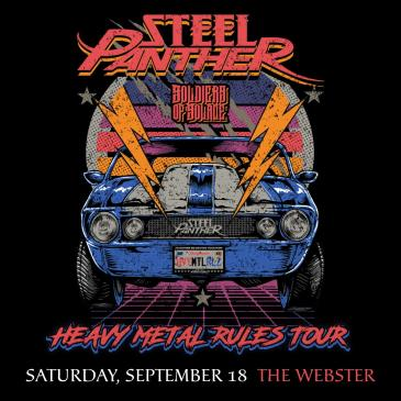 STEEL PANTHER - Heavy Metal Rules Tour: Main Image