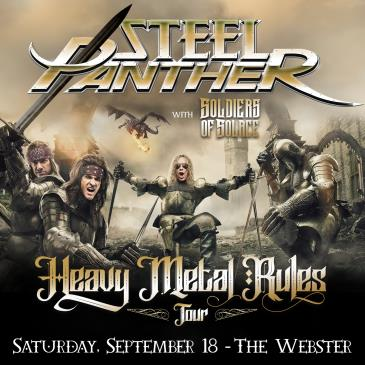 STEEL PANTHER - Heavy Metal Rules Tour: