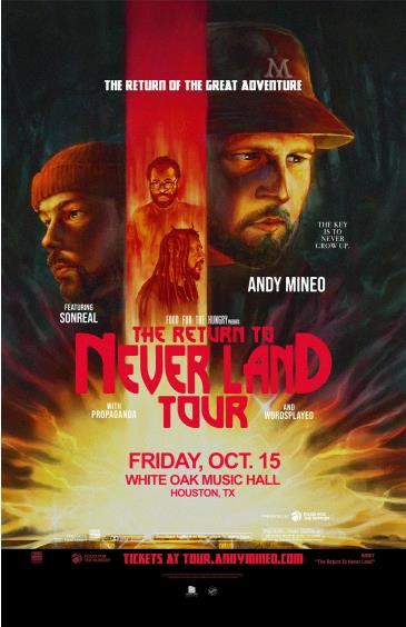 Andy Mineo: The Return to Never Land Tour: