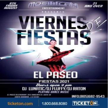 FIESTA FRIDAY EL PASEO: Main Image