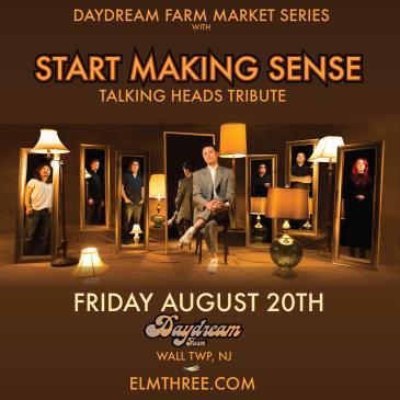Start Making Sense: Talking Heads Tribute at Daydream Farm: Main Image