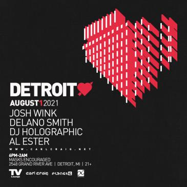 Paxahau Presents Detroit Love: Main Image