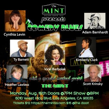 Comedy Blues at The Mint: Main Image