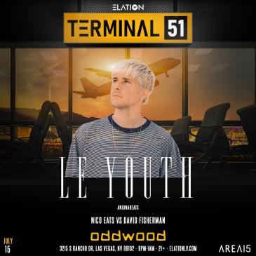 Terminal 51 ft. Le Youth (21+):