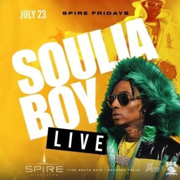 Soulja Boy / July 23rd / Spire Fridays: Main Image