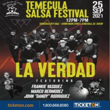 THE TEMECULA SALSA FESTIVAL