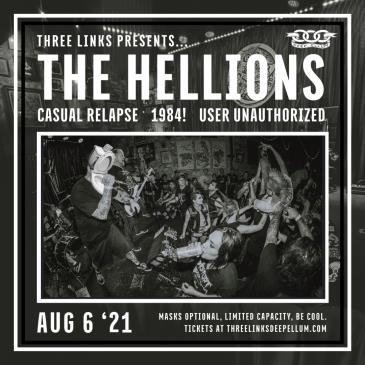 The Hellions, Casual Relapse, 1984!, User Unauthorized-img