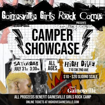 Gainesville Girls Rock Camp Showcase: Main Image