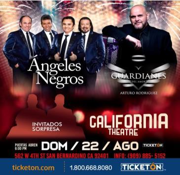 LOS ANGELES NEGROS Y GUARDIANES DEL AMOR: Main Image
