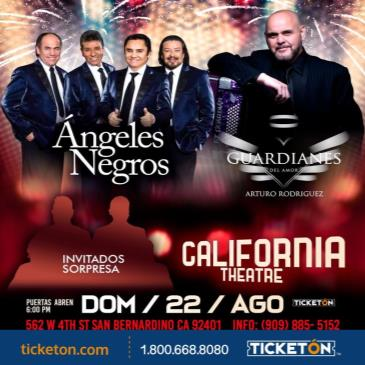 LOS ANGELES NEGROS Y GUARDIANES DEL AMOR
