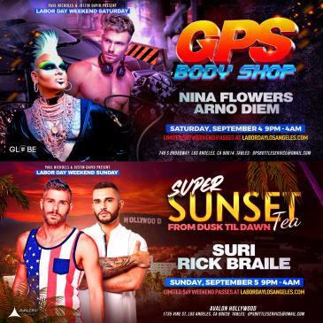 GPS & SUPER SUNSET TEA LD WEEKEND PASSES:
