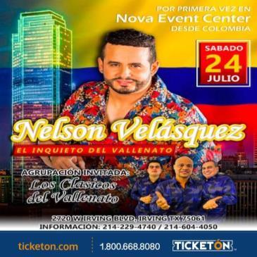 NELSON VELASQUEZ: Main Image