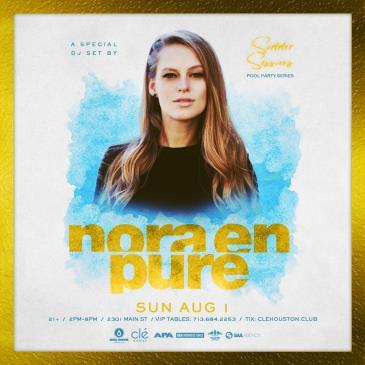 Nora En Pure / Sunday August 1st / Clé-img