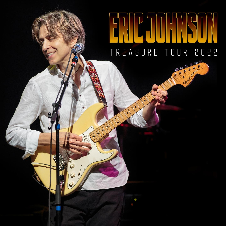 ERIC JOHNSON – Treasure Tour 2022