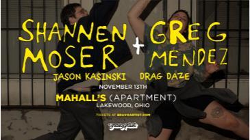 Shannen Moser & Greg Mendez at Mahall's Apartment: