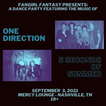 Fangirl Fantasy: 5SOS VS One Direction: Main Image