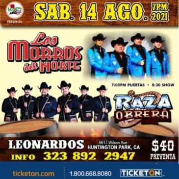 LOS MORROS DEL NORTE, RAZA OBRERA: Main Image