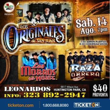 LOS ORIGINALES DE SAN JUAN, LOS MORROS DEL NORTE: Main Image