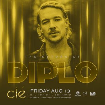 Diplo / Friday August 13th / Clé: Main Image