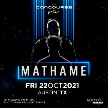 Mathame at The Concourse Project (Patio):