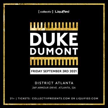 Duke Dumont at District Atlanta: Main Image