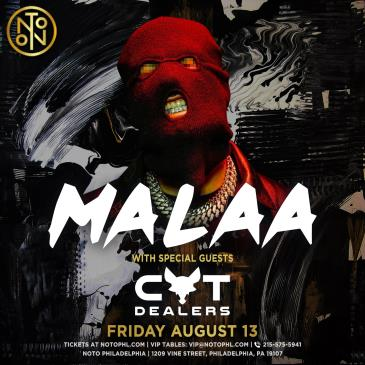 Malaa: With Special Guests Cat Dealers: Main Image