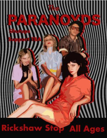 THE PARANOYDS: Main Image