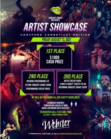 Concert Crave Artist Showcase: Main Image