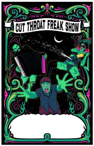 Cut Throat Freak Show: Main Image