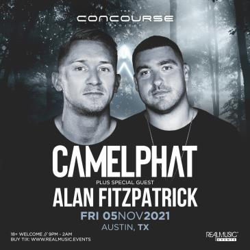 CAMELPHAT and Alan Fitzpatrick at The Concourse Project: