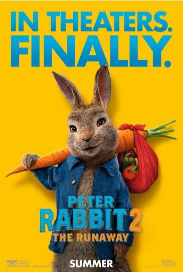 Peter Rabbit 2 and Escaperoom 2 - July 31: Main Image