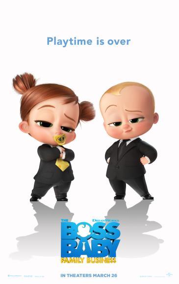 Baby Boss Family Business & Jurassic World Fallen Kingdom: Main Image